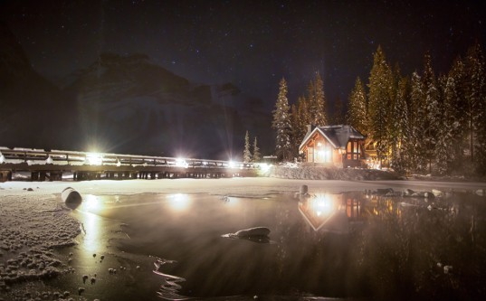 Emerald Lake Lodge in Yoho National Park / Photo by Paul Zizka