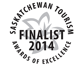 Saskatchewan Tourism - Awards of excellence finalist 2014